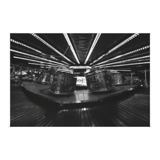 The Waltzers Ride Canvas Print