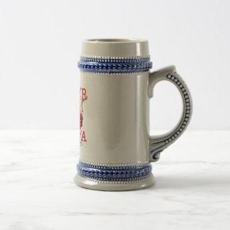 The Wander Indiana Cow Coffee Mug
