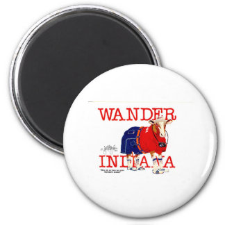 The Wander Indiana Cow Magnet