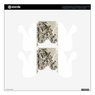 the wander PS3 controller decal
