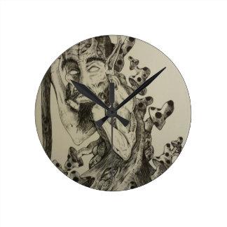 the wander round clock