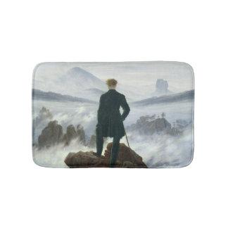 The Wanderer above the Sea of Fog, 1818 Bathroom Mat