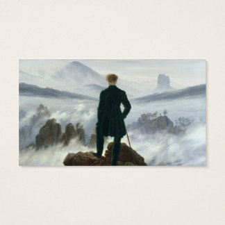 The Wanderer above the Sea of Fog, 1818 Business Card