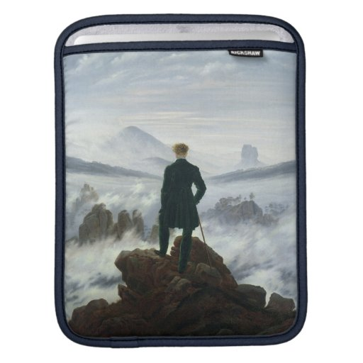 The Wanderer above the Sea of Fog, 1818 iPad Sleeves