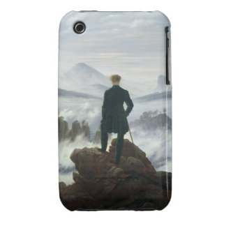 The Wanderer above the Sea of Fog, 1818 iPhone 3 Case