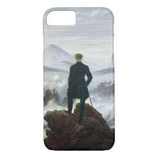 The Wanderer above the Sea of Fog, 1818 iPhone 8/7 Case