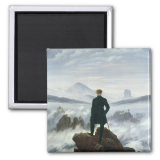 The Wanderer above the Sea of Fog, 1818 Fridge Magnets