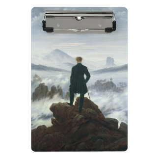 The Wanderer above the Sea of Fog, 1818 Mini Clipboard