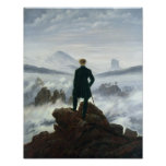 The Wanderer above the Sea of Fog, 1818 Poster