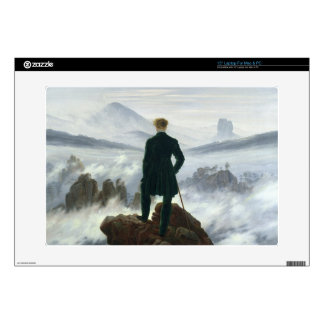 """The Wanderer above the Sea of Fog, 1818 Skin For 15"""" Laptop"""