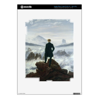 The Wanderer above the Sea of Fog, 1818 Skins For iPad 3