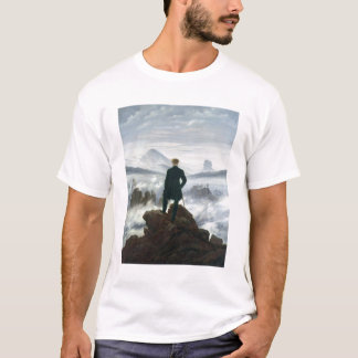 The Wanderer above the Sea of Fog, 1818 T-Shirt