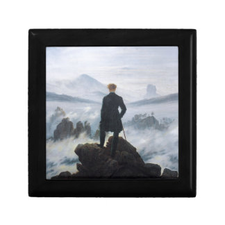 The wanderer above the sea of fog by Caspar David Gift Box