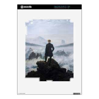 The wanderer above the sea of fog by Caspar David Skin For iPad 2