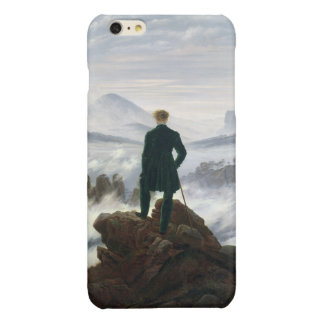 The Wanderer above the Sea of Fog Glossy iPhone 6 Plus Case
