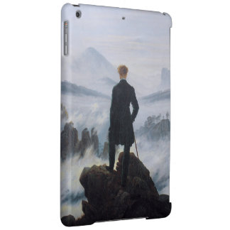 The wanderer above the sea of fog iPad air case