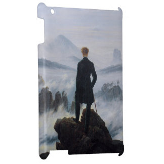 The wanderer above the sea of fog iPad case