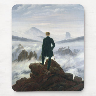 The Wanderer above the Sea of Fog Mouse Pad