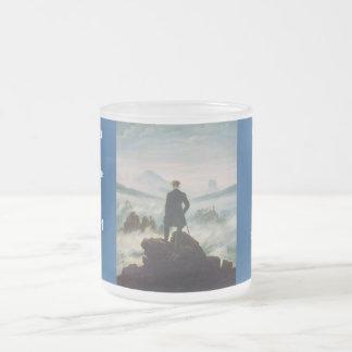 The wanderer above the sea of fog coffee mugs