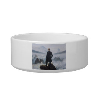 The wanderer above the sea of fog cat bowls