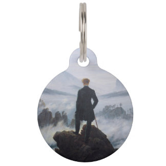 The wanderer above the sea of fog pet name tag