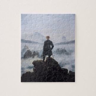 The wanderer above the sea of fog puzzle
