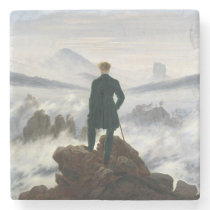 The Wanderer above the Sea of Fog Stone Coaster