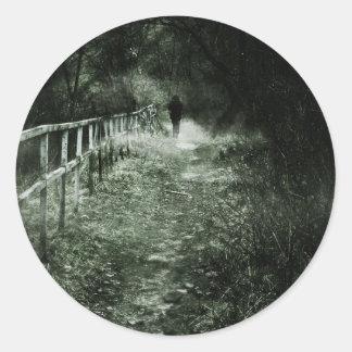 The Wanderer Classic Round Sticker