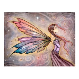 The Wanderer Fairy Fantasy Art Postcard