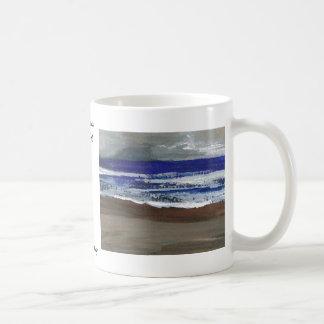 The Wandering CricketDiane Ocean Beach Art Classic White Coffee Mug