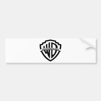 The Wandering Dogs Logo Car Bumper Sticker