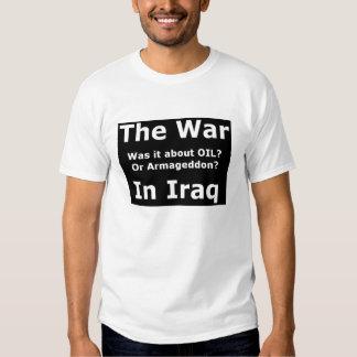 The War In Iraq - Customized T Shirt