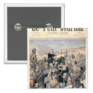 The War in the Transvaal Pinback Button