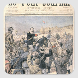 The War in the Transvaal Square Sticker