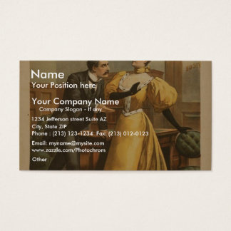 The War of Wealth Business Card