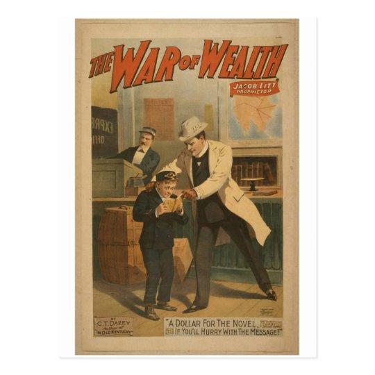 The War of Wealth Postcard