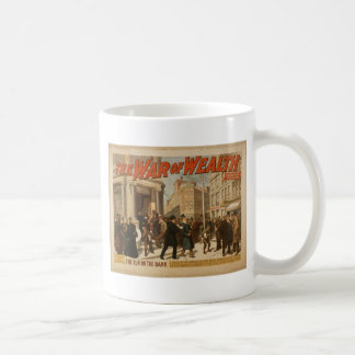 The War of Wealth, 'The run on the Bank' Vintage T Classic White Coffee Mug