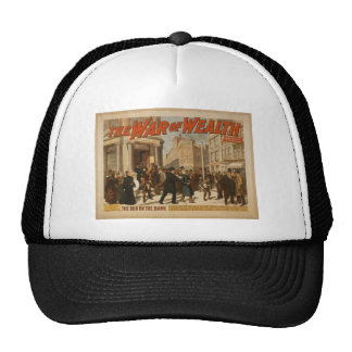 The War of Wealth, 'The run on the Bank' Vintage T Trucker Hat