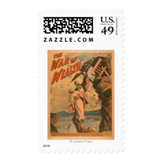 The War of Wealth Theatrical Poster Postage