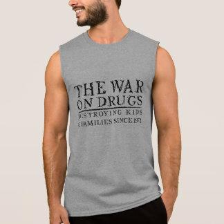 The War On Drugs - Destroying Kids & Families... Sleeveless Shirt