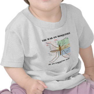 The War On Mosquitoes Is An Endless One (Mosquito) Tee Shirt