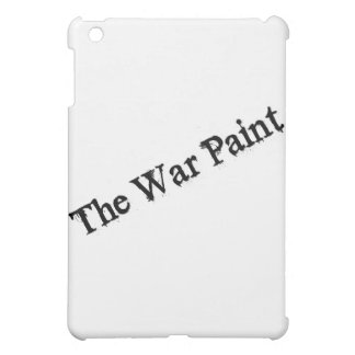 """The War Paint"" Black text logo Case For The iPad Mini"