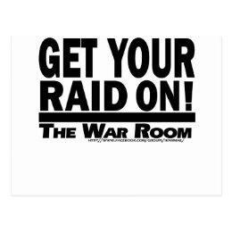 The War Room: Get Your Raid On! Postcard