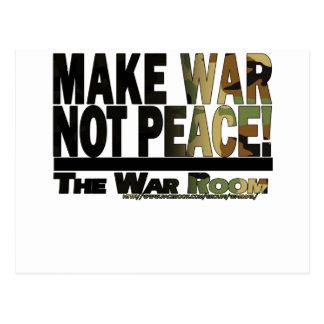 The War Room: Make War Not Peace! Postcard