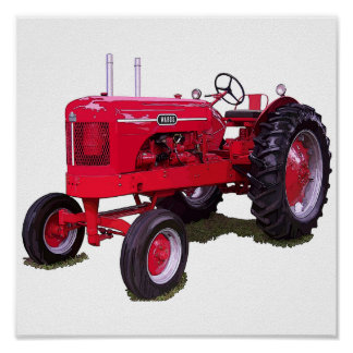 The Wards Tractor Poster