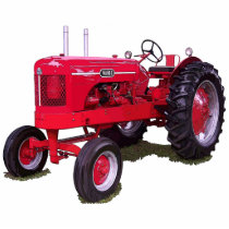 The Wards Tractor Statuette