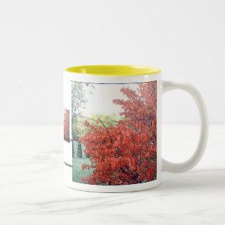 The Warm Glow of Autumn Two-Tone Coffee Mug