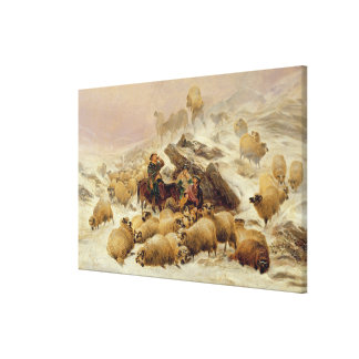 The Warmth of a Wee Dram Canvas Print