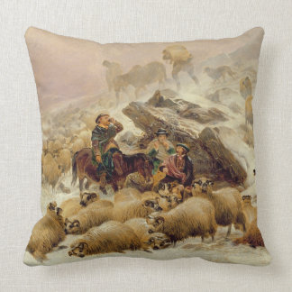 The Warmth of a Wee Dram Throw Pillow