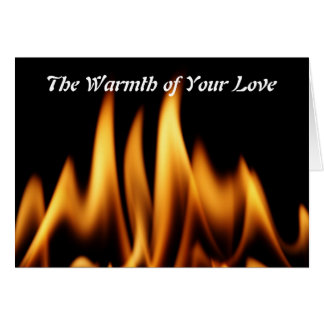 The Warmth of Your Love Card